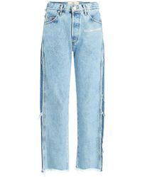 Natasha Zinko - Cropped Jeans - Lyst