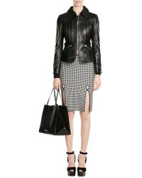 Roland Mouret - Leather Tote With Suede - Lyst