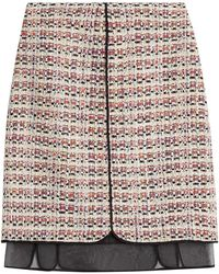 Giambattista Valli | Tweed Skirt | Lyst