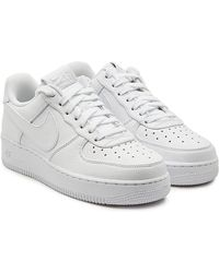 newest collection 00877 6e7e5 Nike - Air Force 1  07 Leather Trainers - Lyst
