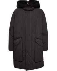 OAMC - Sherman Down Parka With Shearling - Lyst