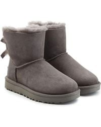 UGG - Mini Suede Boots - Lyst