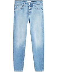 Closed - Skinny Cropped Jeans - Lyst