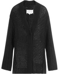 Maison Margiela - Cardigan With Alpaca And Wool - Lyst