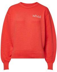Rag & Bone - Hello Cotton Sweatshirt - Lyst