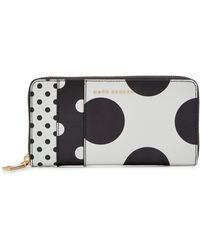 Marc Jacobs - Standard Continental Printed Leather Wallet - Lyst