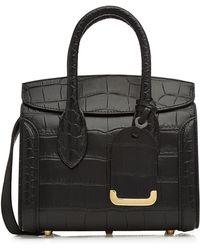 Alexander McQueen - Mini Heroine Leather Shoulder Bag - Lyst