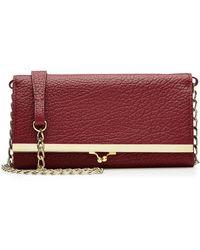 Maison Margiela - Leather Wallet Shoulder Bag - Lyst
