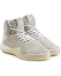 more photos ee3fb c205f Lyst - adidas Originals Tubular Instinct Primknit Sneakers ...