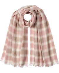 Polo Ralph Lauren | Printed Scarf With Wool | Lyst