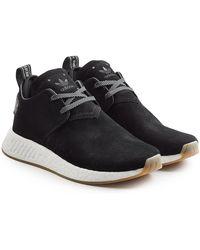 adidas Originals - Nmd C2 Suede Sneakers - Lyst