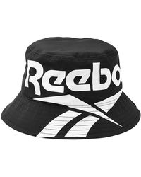 20b0f6b1505 Reebok - Printed Hat - Lyst
