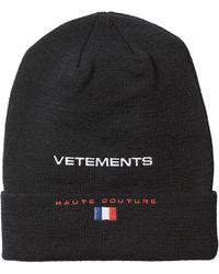 Vetements | X Reebok Wool Hat | Lyst