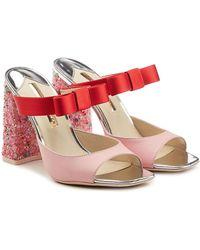 Sophia Webster - Andie Leather Sandals - Lyst