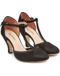 Repetto - Baya Suede Pumps - Lyst