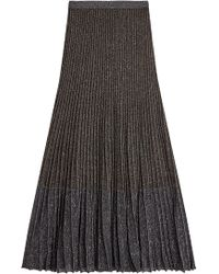 Roberto Cavalli - Skirt With Metallic Thread - Lyst