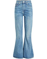 Brock Collection - Jean flare raccourci Belle - Lyst