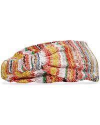 Missoni - Knit Headband - Lyst