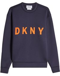 DKNY - Printed Sweatshirt - Lyst