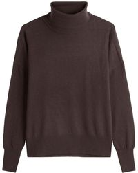 Closed - Turtleneck Pullover With Wool And Cashmere - Lyst