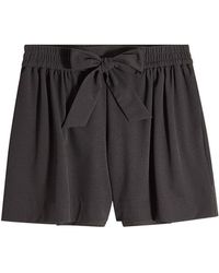 Boutique Moschino - Shorts With Bow - Lyst