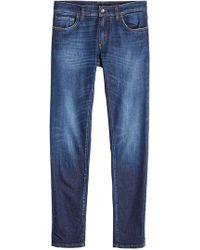 Dolce & Gabbana - Slim Jeans With Pocket Patch - Lyst