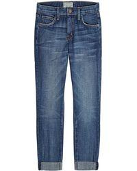 Current/Elliott - The Fling Straight Leg Jeans - Lyst