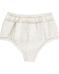 She Made Me - Crochet Bikini Bottoms - Lyst