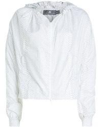 1ee94fd7a142 adidas By Stella McCartney Leopard Print Sport Jacket in Purple - Lyst