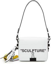 Off-White c/o Virgil Abloh - Sculpture Leather Shoulder Bag - Lyst