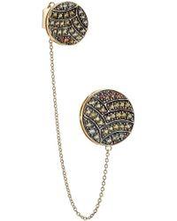 Ileana Makri - 18-karat Gold And Sapphire Ear Cuff - Lyst