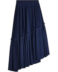 KENZO - Asymmetrical Skirt - Lyst