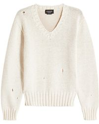 CALVIN KLEIN 205W39NYC - Oversized Cotton Pullover - Lyst