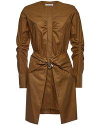 Carven - Cotton Shirt Dress - Lyst