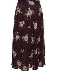 Velvet - Nalani Printed Skirt - Lyst