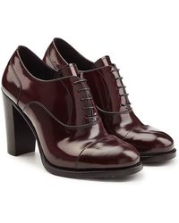 Church's - Patent Leather Pumps With Lace-up Front - Lyst