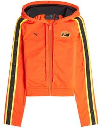 PUMA - Track Jacket With Snapped Sleeves - Lyst