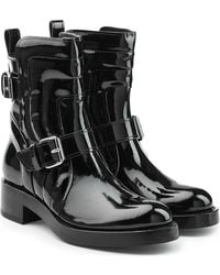Pierre Hardy - Patent Leather Ankle Boots - Lyst
