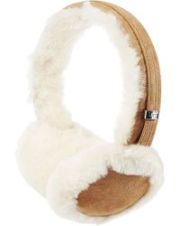 UGG - Classic Wired Shearling Earmuff Headphones - Lyst