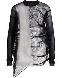 Rick Owens - Sheer Knit Pullover - Lyst