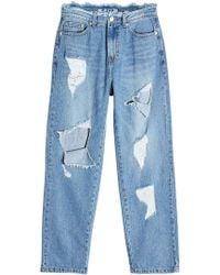 SJYP - Distressed Jeans - Lyst