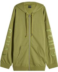 PUMA - Zipped Hoodie With Cotton - Lyst