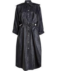 Nina Ricci - Taffeta Dress - Lyst