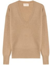 American Vintage - Pullover With Angora And Wool - Lyst