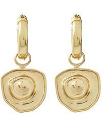 Ellery - Coptic Gold-plated Earrings - Lyst
