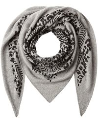 Lala Berlin - Cashmere Triangle Scarf - Lyst
