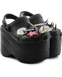 Balenciaga - Platform Crocs - Lyst