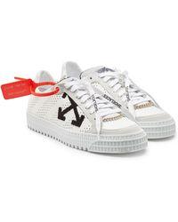 Off-White c/o Virgil Abloh - Sneakers 3.0 Polo aus Leder und Veloursleder - Lyst
