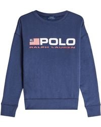 Polo Ralph Lauren - Sweatshirt With Cotton - Lyst