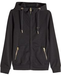 True Religion - Zipped Jacket With Hood - Lyst